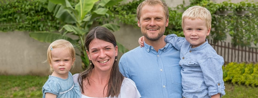Familie Wagner arbeitet in Sambia.