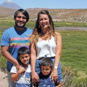 Familie Vergara in Chile
